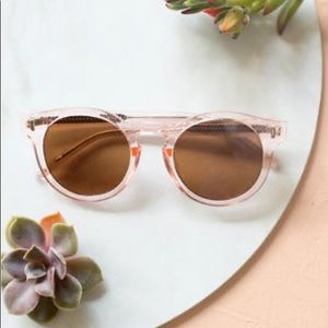 4f72aa0ee1 Bonnie and Clyde Accessories - Pale Pink Bonnie Clyde Sunglasses for Rachel  Zoe